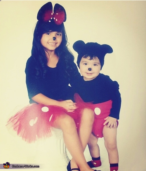 Minnie & Mickey Costume