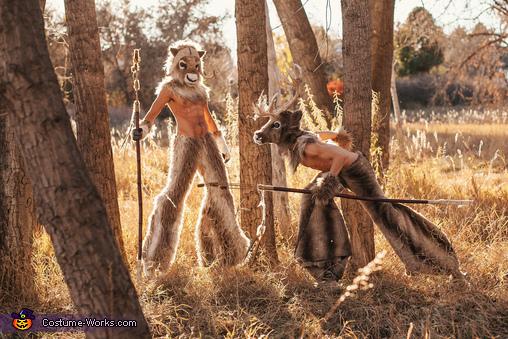 Minotaurs Homemade Costume