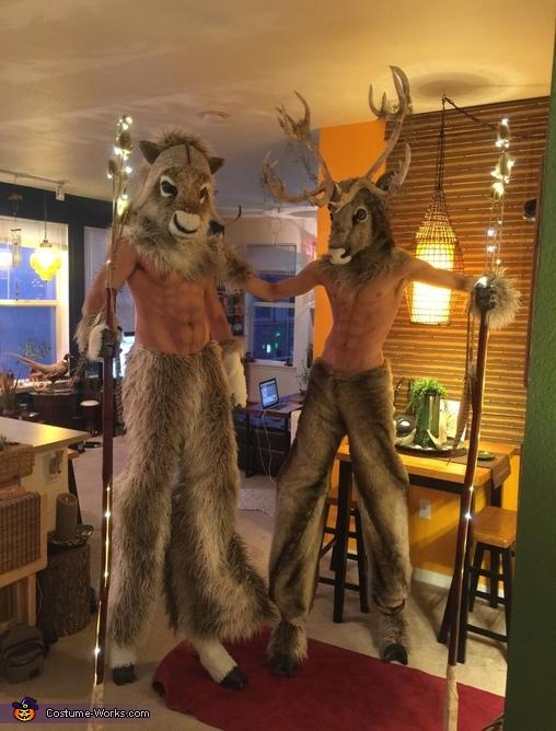 Minotaur Variants (Musk Ox & Caribou) Costume