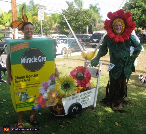 Miracle Grow & Flowers Costume