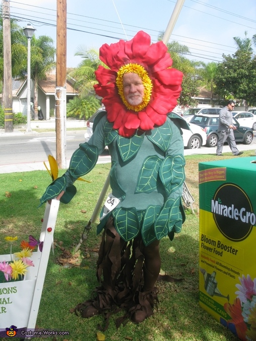 Brave Husband Flower Costume, Miracle Grow & Flowers Costume