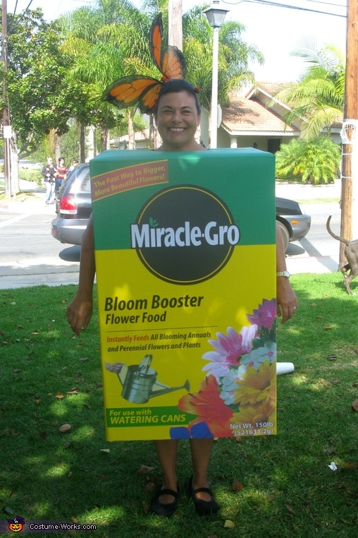 Miracle Grow Costume, Miracle Grow & Flowers Costume