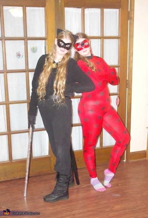 & Miraculous Ladybug and Cat Noir Costume