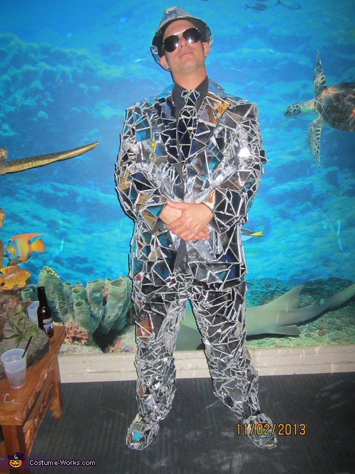 Mirror Man Costume