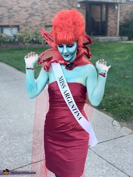 Miss Argentina Homemade Costume