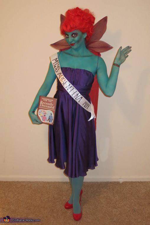 Beetlejuice Miss Argentina Costume