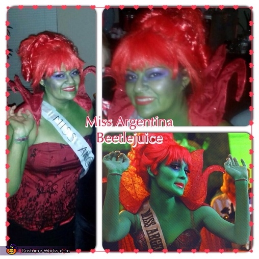 Miss Argentina (beetlejuice), Miss Argentina Costume