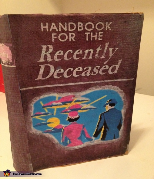 The Handbook for the Recently Deceased, Miss Argentina from Beetlejuice Costume
