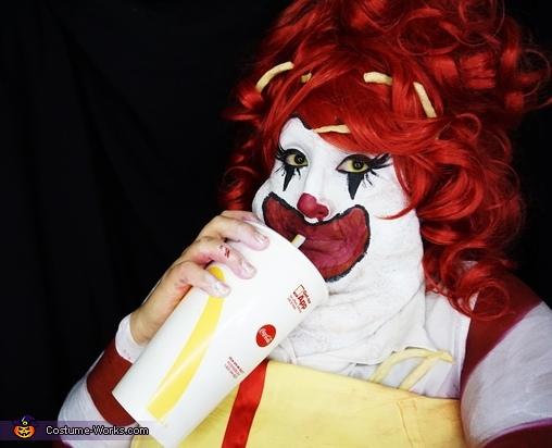 Miss BigMac Homemade Costume