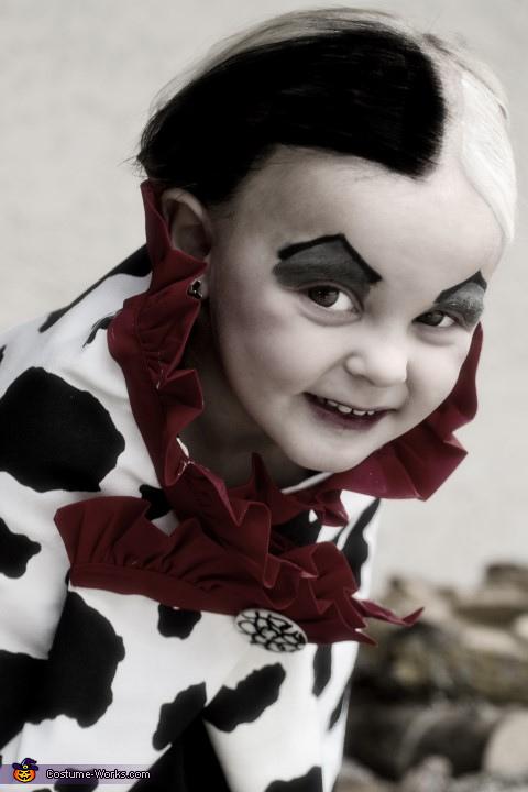 Sweet and Evil, Miss Cruella Deville Costume