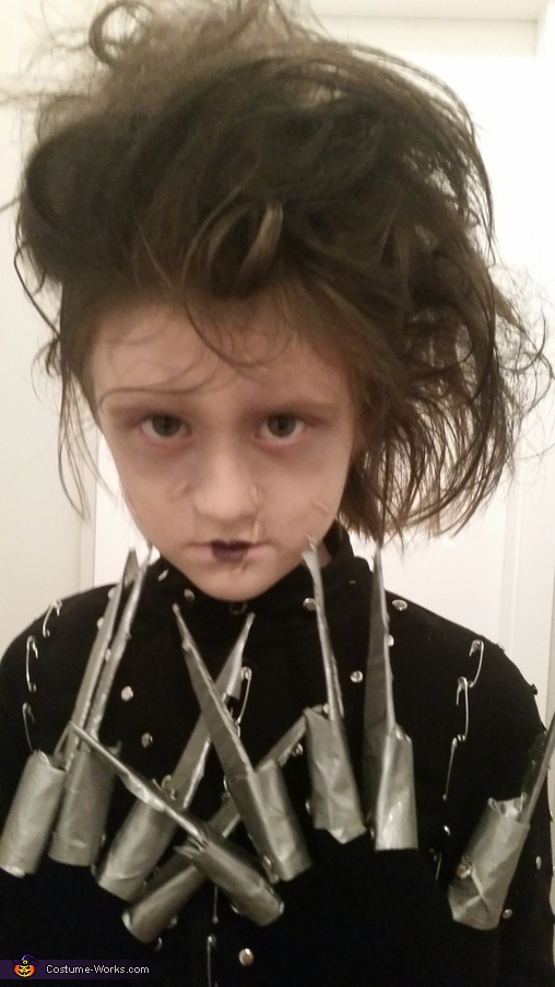 close up., Miss Edward Scissor Hands Costume