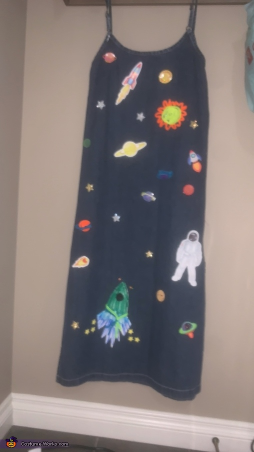 Miss Frizzle Dress (outer space theme), Miss Frizzle and the Magic School Bus Costume