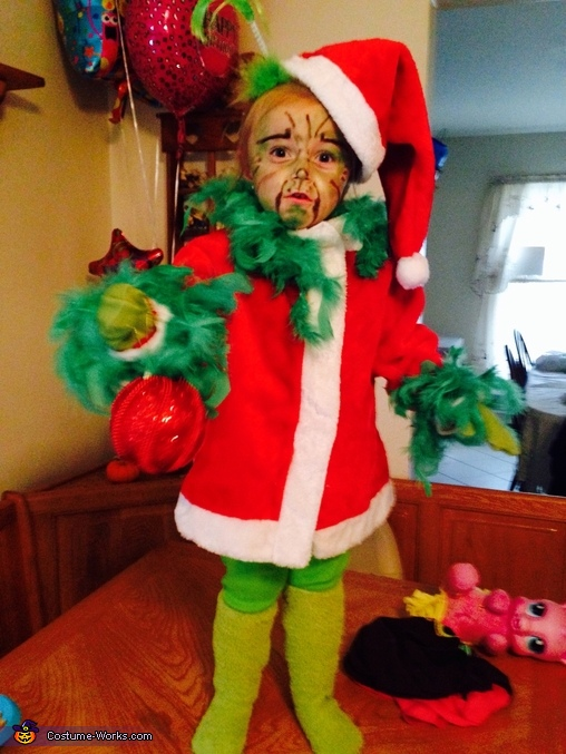 Miss Grinch Baby Costume