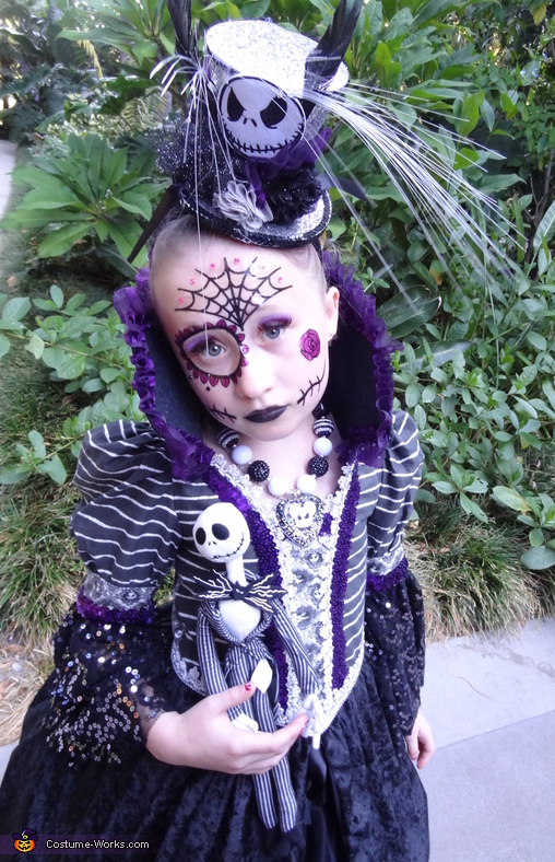 Miss Jack Skellington Costume