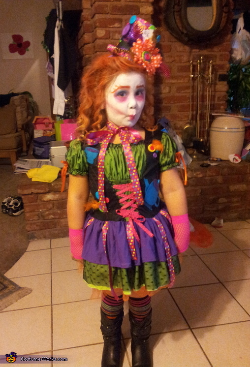 Miss Mad Hatter Costume For A Girl