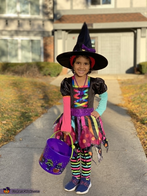 Miss Match Witch Costume