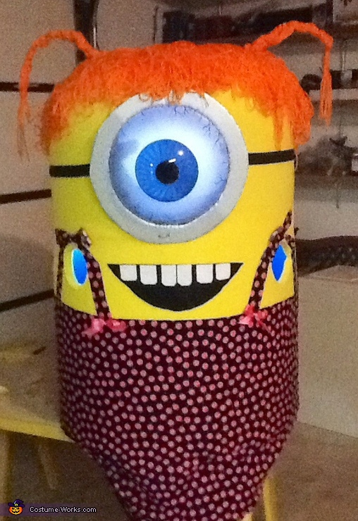 This is the minion without me in it., Miss Minion Costume