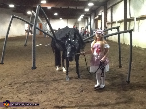 Miss Muffet and Itsy Bitsy Spider Costume