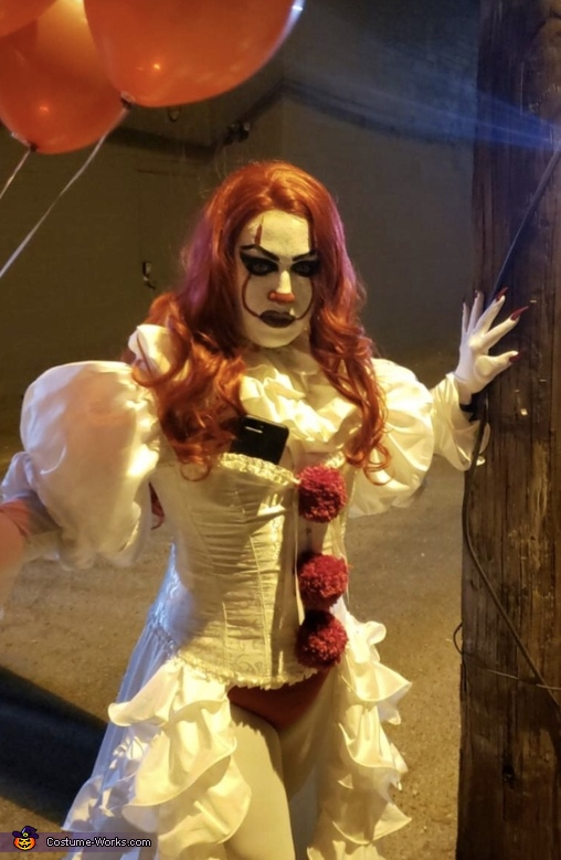 Miss Pennywise Homemade Costume