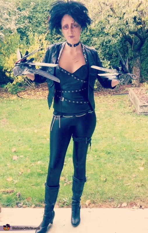 Miss Scissor Hands Costume