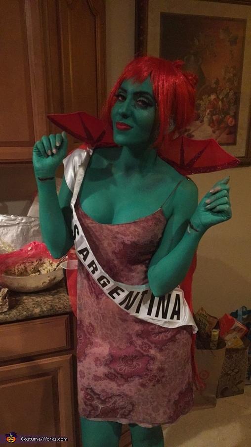 Miss Argentina Costume DIY