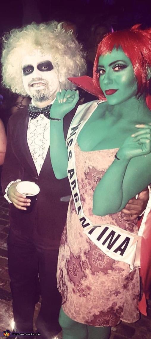 Miss.Argentina & Beetlejuice Homemade Costume
