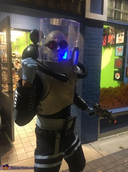 Mister Freeze Homemade Costume