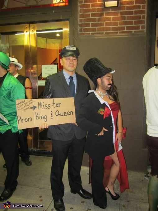 My man..., Mister Prom Dates and the Chauffeur Costume