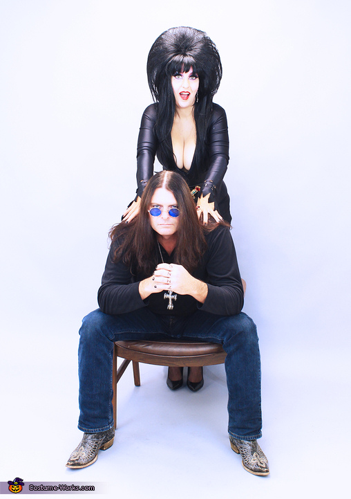 Elvira and Ozzy, Mistress of the Dark and the Prince of Darkness Costume