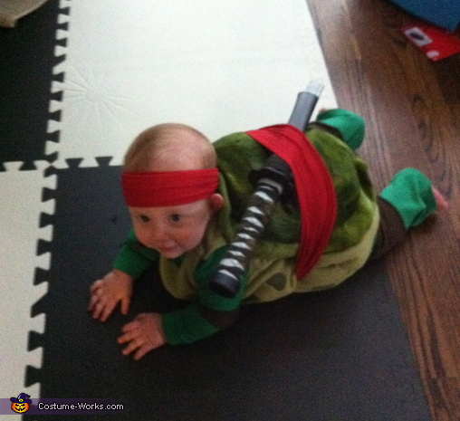 The Long lost Ninja Turtle - Julianello, MJ Who's Bad Costume