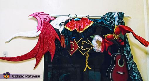 MLBB Lunox Bloody Mary Homemade Costume