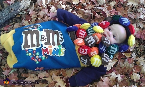 M&M Minis Homemade Costume