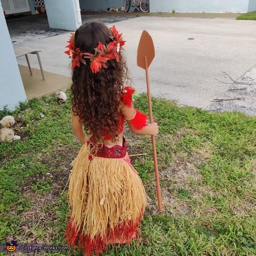 Moana Homemade Costume