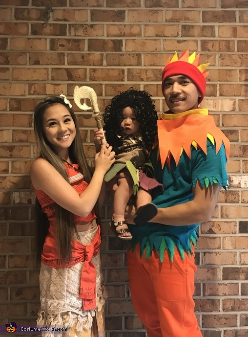 Moana and Crew Costume