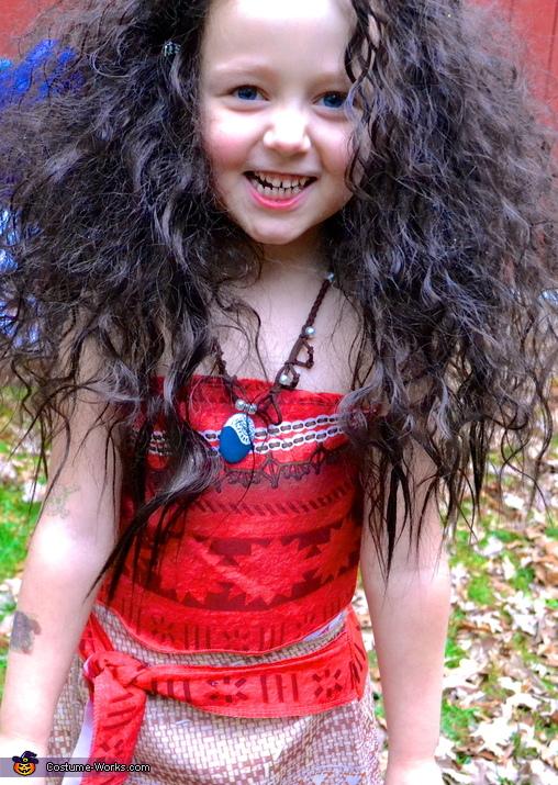 Moana, Moana Cast Costume