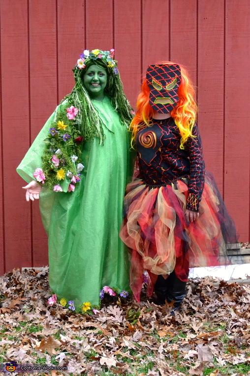 Tefiti and Teka, Moana Cast Costume