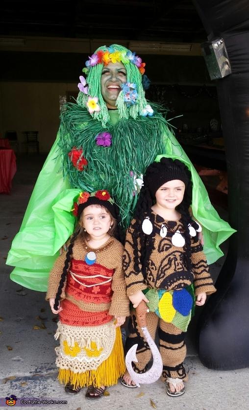 Moana, Maui and Te Feti Costume