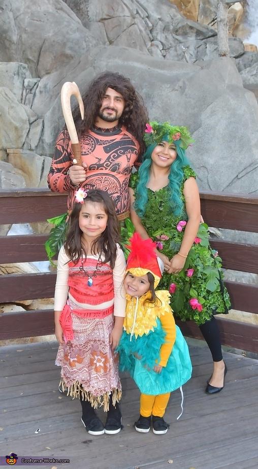 Moana Theme Costume