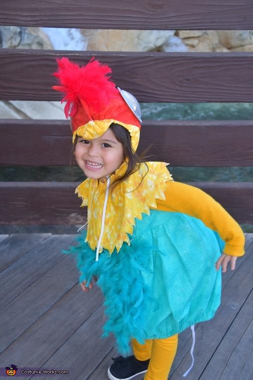 Hei hei, Moana Theme Costume