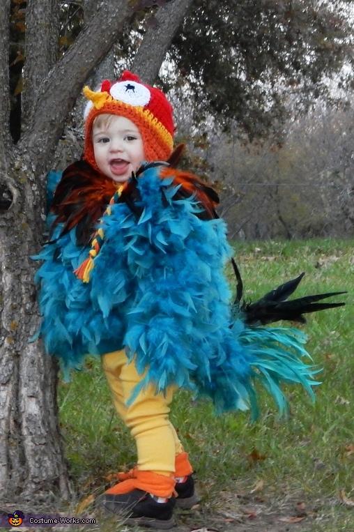 Moana's Hei Hei Homemade Costume