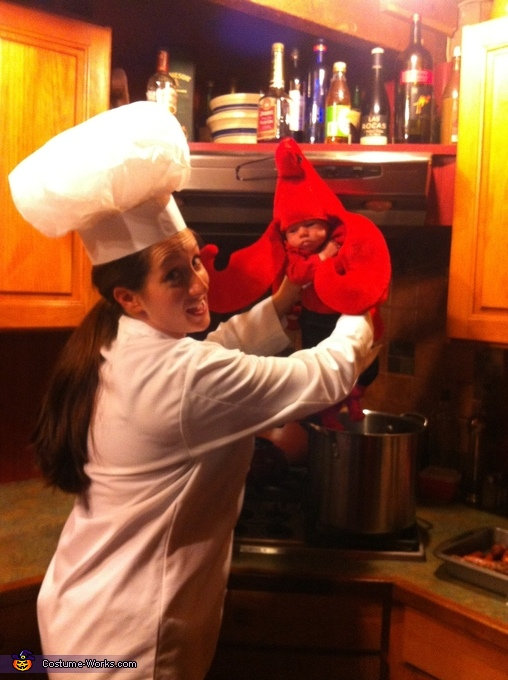 Let's get cook'n, Mommy's Little Lobster Costume