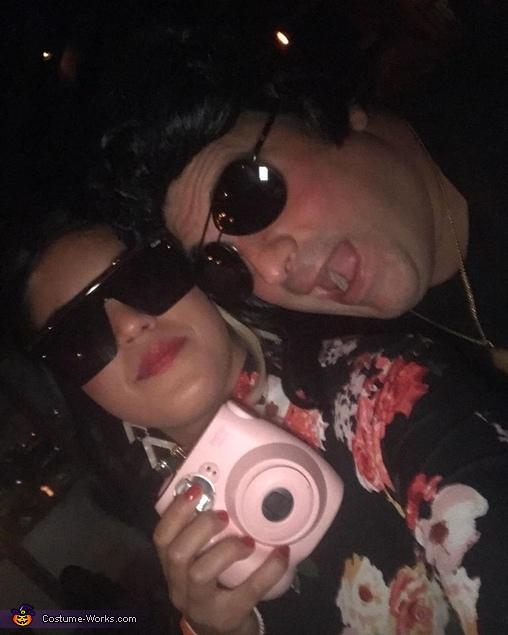 Pink Camera, Mona Lisa Vito and Vincent Gambini Costume