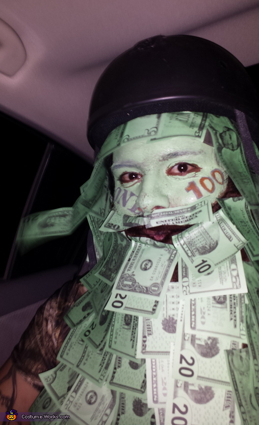 Money Man Costume