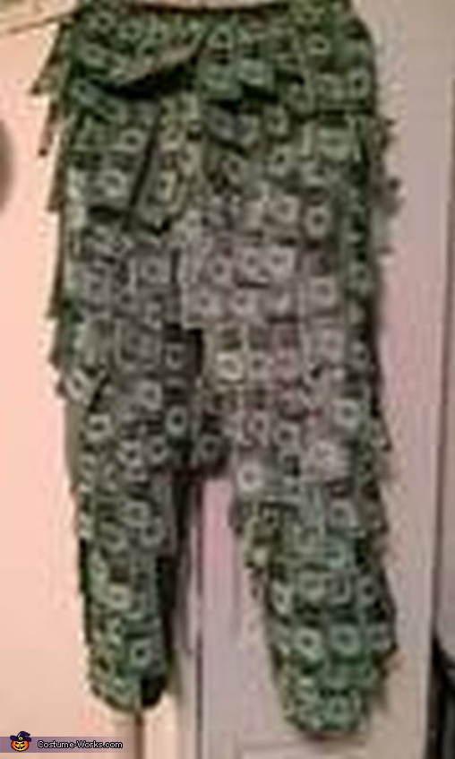 Pants, Money Man Costume