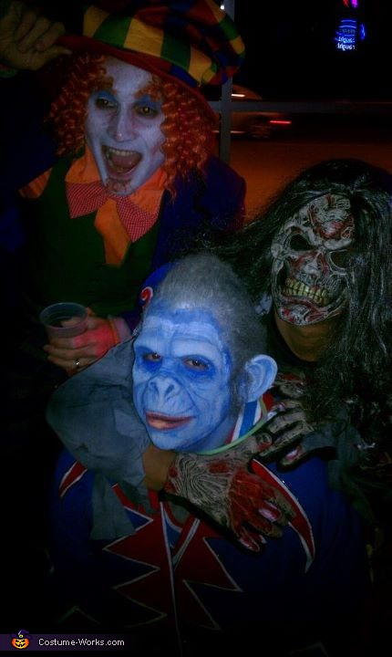 Scary!, Wizard of Oz Nikko Winged Monkey Costume