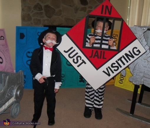 Monopoly Costume