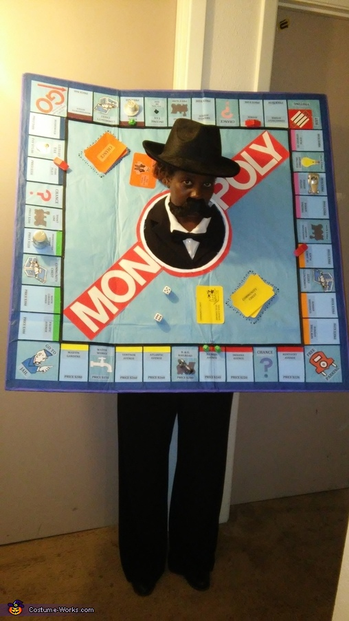 Monopoly Board Costume