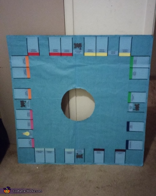 Beginning stage, Monopoly Board Costume