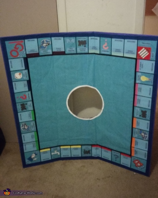 Stage two, Monopoly Board Costume