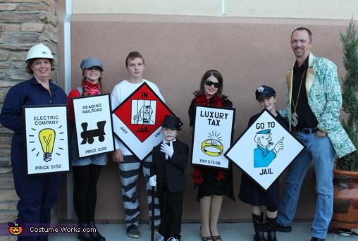 Monopoly Family Costume